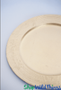 "COMING SOON! Charger Plate - Imperfect - Brushed Gold w/Ridged Trim 13"" Set of 6"
