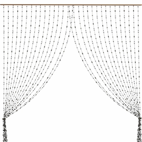 Clearance Beaded & String Curtains