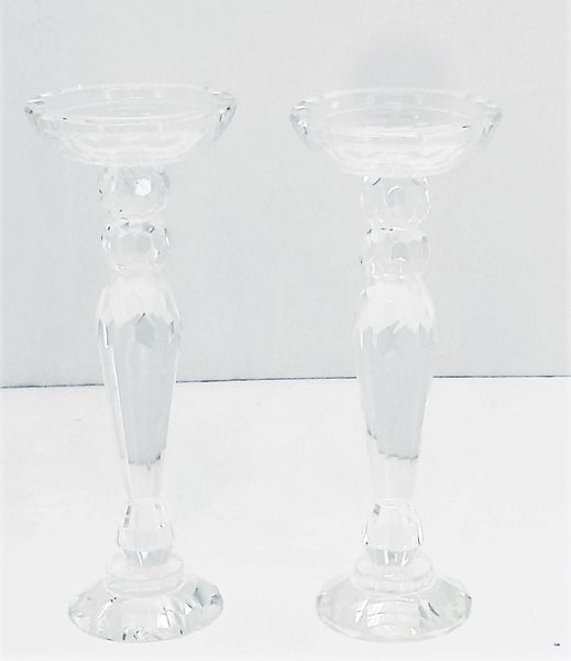"CLEARANCE! Candle & Floral Riser Set ""Arabella"" - 11"" x 4"" Each"