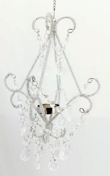 """CLEARANCE! Chandelier Style """"Aubrianna"""" Fancy Candle Holder"""