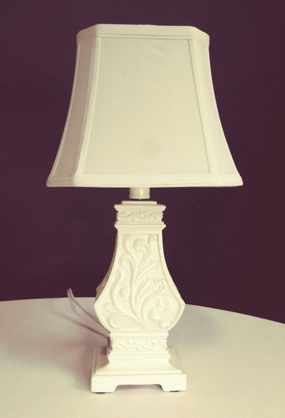 "CLEARANCE! Table Lamp Off-White ""Pop Life"" Off-White"