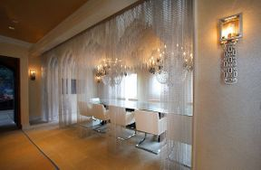 Crushing on David Bromstad and Aluminum Chain Curtains in The House of Rock