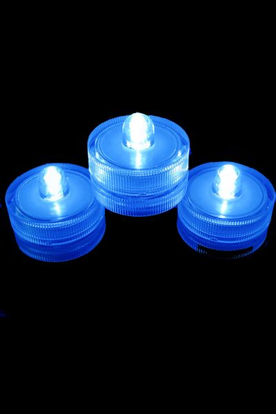 COMING SOON! DazzLED Submersible Blue LED Lights -  Set of 10