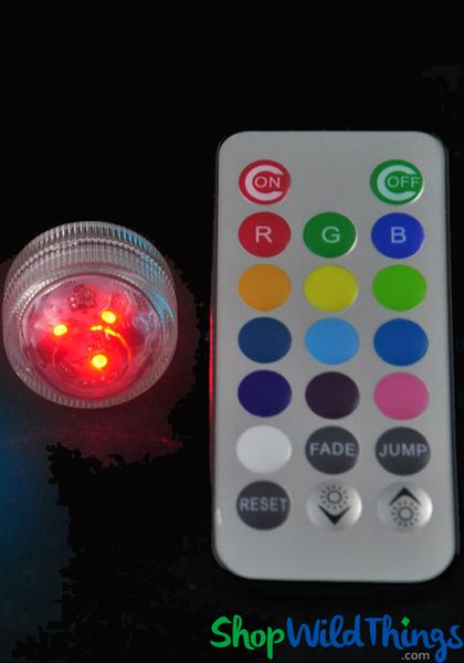 Coming Soon - DazzLED Submersible 13 Color Options w/ Remote - Set of 10