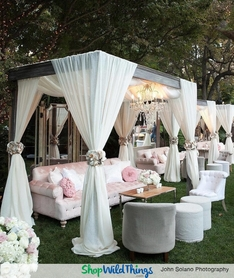 Dressed to Impress Outdoor Wedding Receptions