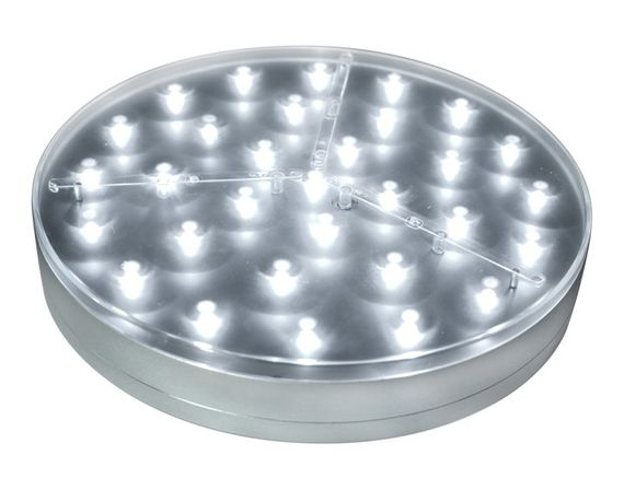 "Acolyte E-Maxi Illuminator 8""  LED Light Disc by Acolyte - Centerpiece Lighting"
