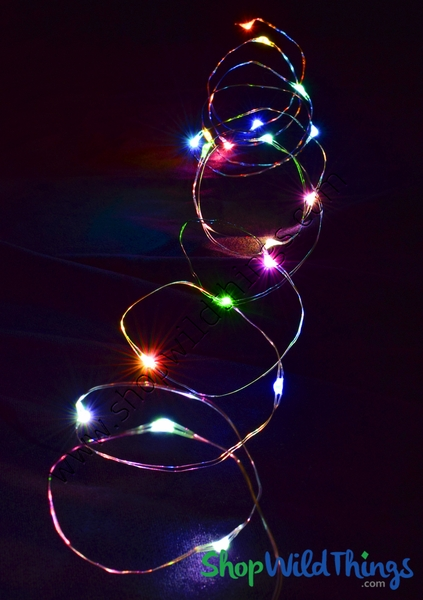 Fairy String Lights With 20 Led S Multicolor Colorful Rainbow Decorative Strands