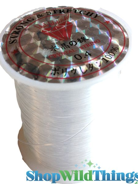 """""""Fishing Line"""" Crystal String for Projects - 72 Yards"""