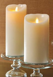 Candles - Wax, LED Flameless or Floating Lights
