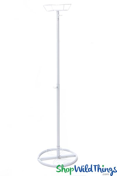 "Floral, Chandelier & Centerpiece Riser - 48"" White Metal"