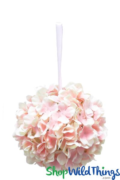 Hanging Silk Hydrangea Flower Balls8 To 12shopwildthings