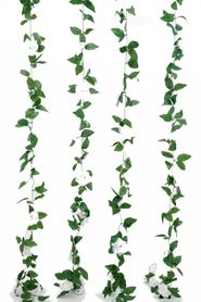 Flower Garland - Silk Rose - 8' - White - BUY MORE, SAVE MORE!