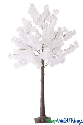Large Artificial Trees White Flowers Shopwildthings Com