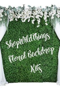 Floral Wall & Greenery Kits 8' x 8'