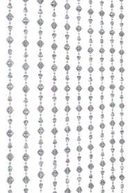 Gemstones Beaded Curtains, Chandeliers, Bead Rolls