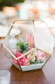 Geometric Terrariums & Candle Holders