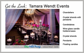 Get The Look:  A Signature Tamara Wendt Events Design that Maximizes Style AND Budget