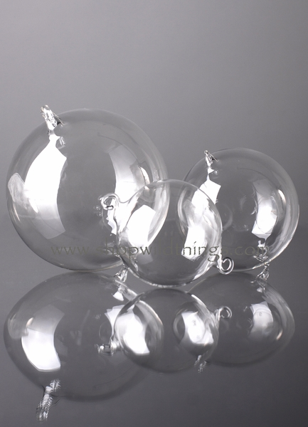 COMING SOON! Glass Decorative Hanging Balls - 100mm - Set of 6  - as low as $26.99