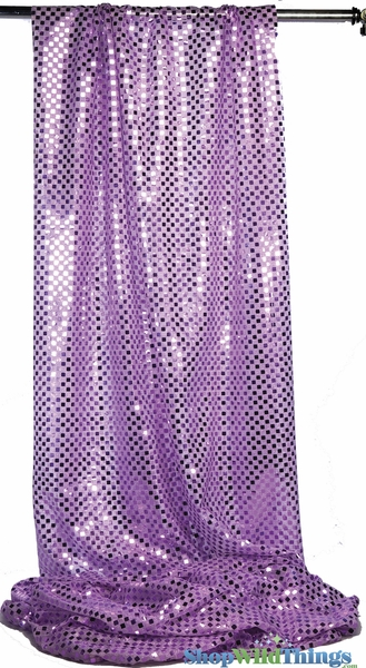 """Glitzy Square"" Spangles Purple - Fabric 44"" x 5 yards"