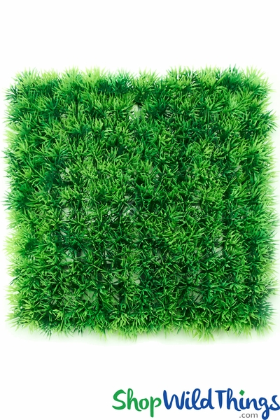 "Grassy Green Landscape Wall Mat 10 1/2"" Square"