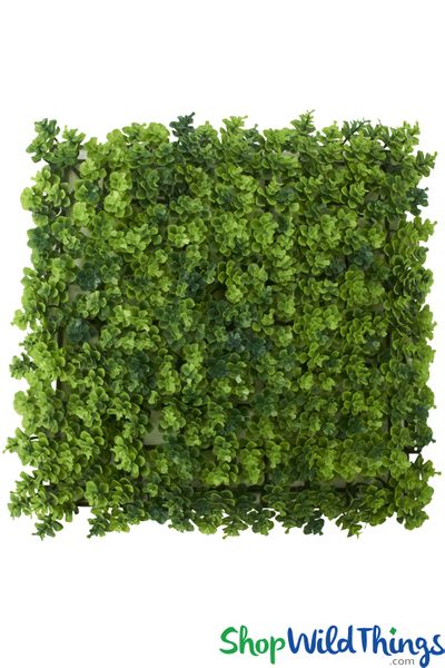"""Variegated Shrubbery Wall Mat - 10"""" Square"""