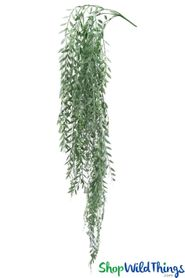 """Pepper Berry Vine - Lightly Frosted Green w/Ivory Berries Spray 40"""""""