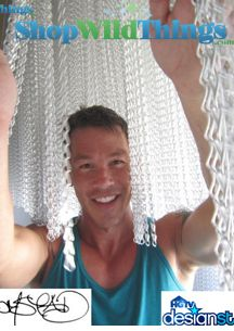 HGTV's David Bromstad Chain Curtain Project Photos