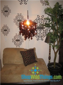 How to Hang a Chandelier From the Wall