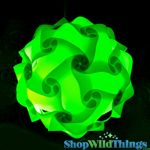 "COMING SOON! Jigsaw Light Kit -Large 14"" (35cm) - Lime Green"