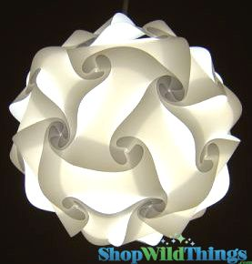 "COMING SOON! Jigsaw Light Kit - Medium 11"" (28cm) - White"