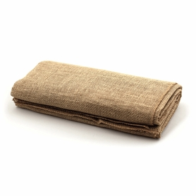 "1 LOT AVAILABLE! CLEARANCE Jute Natural Table Topper 54"" x 108""  Rectangle - 50Pcs"