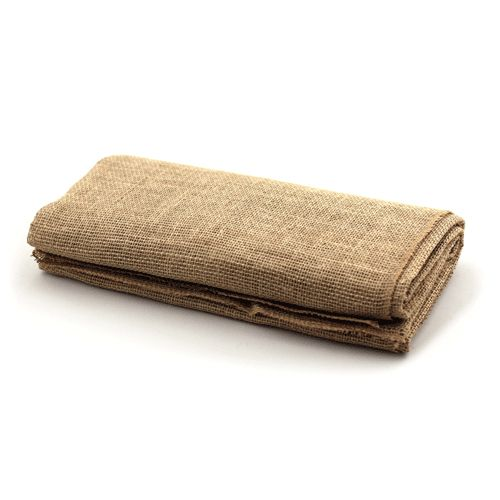 """CLEARANCE! Jute Natural Table Topper 60"""" x 60"""" Square"""
