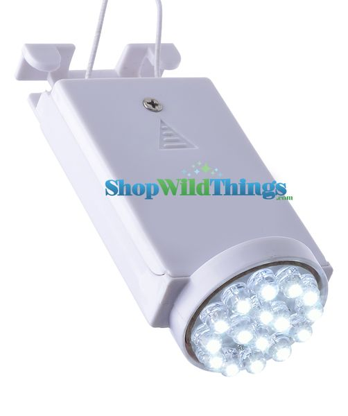 Lantern Lighting - White 16 LED Light Hanging Terminal