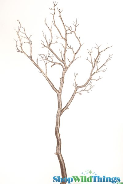"Coming Soon!  Manzanita Branch 40"" Antique Platinum - 3D Paint Detail - Bendable!"