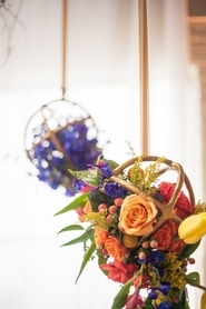 Metal Sphere Centerpieces:  What's Next in Floral Design
