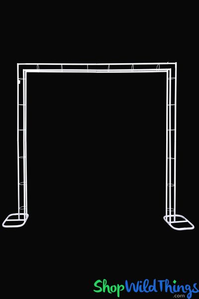 "Metal Square Shape Wedding Arch ""Marquee"" - 7.5'H x 7.5' W"
