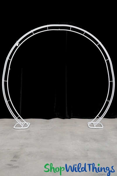 "Metal Round Wedding Arch ""Seraphina"" 