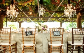 Metallic Neutral Gold for Chic Summer Weddings
