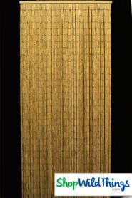 Plain Bamboo Curtain 125 Strands! - in movie Australia!