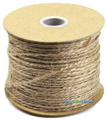 Natural Jute Cord 100 Yard Roll - 1.5 MM