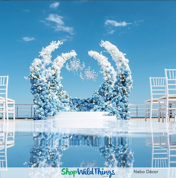 Nebo Decor Frames Jaw Dropping Ceremony Spaces