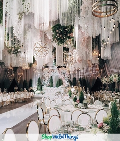 Over The Top Wedding & Event Ceiling Installations For Top Shelf Events