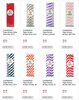 1 LOT AVAILABLE!  CLEARANCE Paper Straw Lot  - Chevron, Stripes, Dots - Asst Colors - 8,400 Pcs!