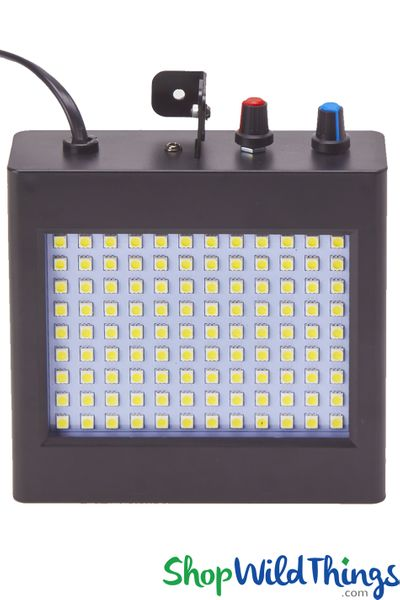 LED Stage & Backdrop Strobe Light, 108 Lights, Sound or Auto Activate Party Strobe