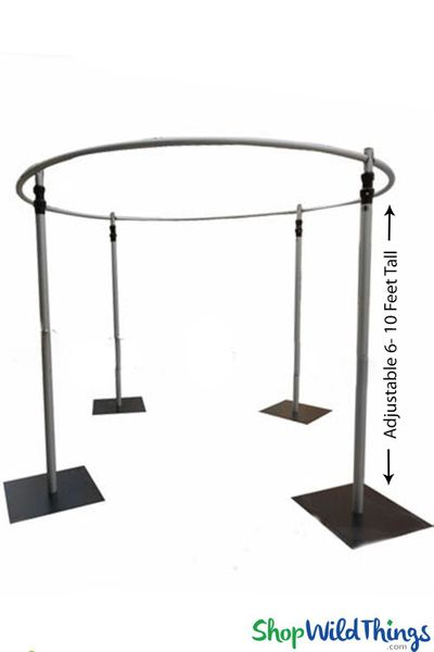 "Wedding & Event Canopy Profesional Series Hardware Kit � (2"" Pipe) 6'-10' Tall by 10' Diameter Round Chuppah"