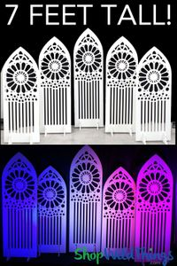 Laser Cut Prop Backdrops - Wedding & Stage