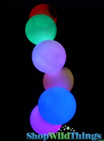 "Rainbow Orb - 3.25"" - Color Changing - Waterproof Floating"
