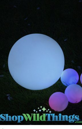 """Rainbow Orb - Giant 9.5"""" - Color Changing - Waterproof Floating"""