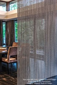 Real Metal Ball Chain Curtains