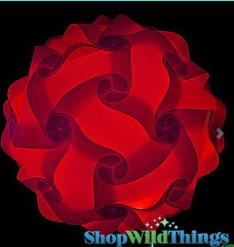 "Jigsaw Light Kit -Large 14"" (35cm) - Red"